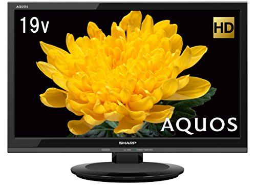 シャープ AQUOS 19V型 ハイビジョン 液晶テレビ ブラック LC-19P5-B