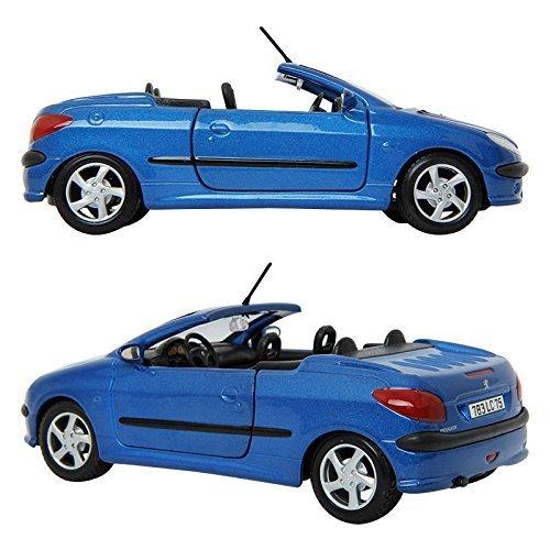MAISTO PEUGEOT 206cc BLUE 1:24 ミニカー/ミニカーミニチュアカー [並行輸入品]
