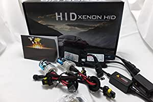 保証付き!薄型バラスト採用!H8/H11/H9/H16 HIDキット完全防水仕様 最新ICデジタルチップバラスト◆6000K