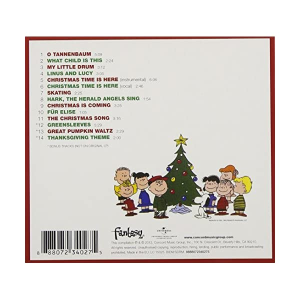 Charlie Brown Christmasの紹介画像2