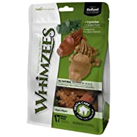 Whimzees ALLIGATOR Dental Care Treats All Natural Dogs Digestible SMALL