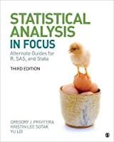 "Statistical Analysis ""In Focus"": Alternate Guides for R, SAS, and Stata for Statistics for the Behavioral Sciences"