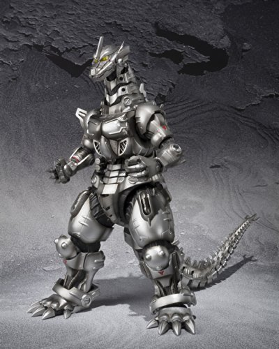 S.H.MonsterArts ゴジラ×モスラ×メカゴジラ 東京SOS 3式機龍 (重武装型/高機動型) 全高約15.5cm ABS&PVC製 フィギュア