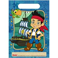 Disney Jake and the Never Land Pirates Treat Bags (8) Party Accessory [並行輸入品]