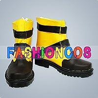 ★サイズ選択可★女性22.5CM UA0818 ファイナルファンタジーFF シューイン Shuyin コスプレ靴 ブーツ