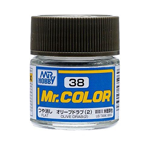 クレオス Mr.カラー C38 オリーブドラブ 2