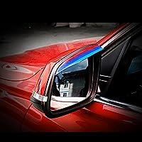 3D Mスタイリング ミラーバイザー 雨除け ミラー バイザー サイドミラー カバー 雨よけ 車バックミラー用品 適用BMW 1シリーズF20 F21 116i 118i 120i 125i M135i など 他も対応