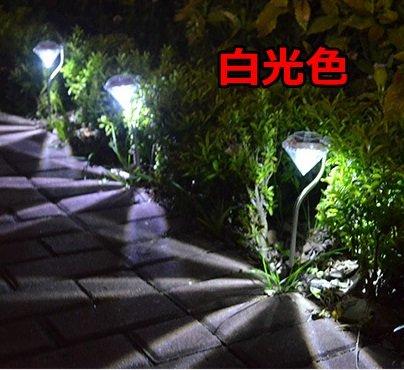 BlueField ガーデンライト ソーラー LED おしゃれ ダイヤモンド型 4本セット (暖黄色)