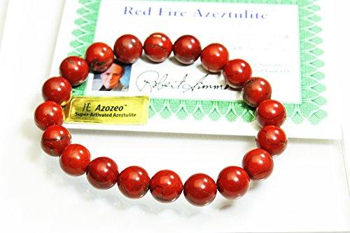 [해외]H &  E 사 헤븐 앤 어스 사의 증명서 부 레드 파이어 아제 쯔 라이토 팔찌 10mm20 마리 아조제오 Azozeo t817-52/H &  E Company Red Light Fire Azutsurit bracelet with Heaven and Earth company certificate 10 mm 20 grain Azozeo Azozeo t 817...