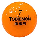 TOBIEMON(トビエモン) ゴルフボール 公認球 2ピース 1ダース(12個入り) プレミアムオレンジ FLYGADR-POD