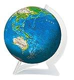 240ピース 3D球体パズル ブルーアースII-地球儀-
