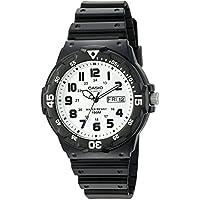 Casio Men's 'Classic' Quartz Resin Watch, Color:Black (Model: MRW200H-7BV)