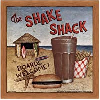 Shake Shack by David Carter Brown–10x 10インチ–アートプリントポスター LE_480531-F8744-10x10