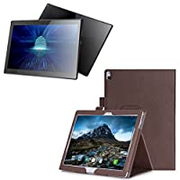 Zhhlaixing 携帯電話の保護 Leather Case Soft Shell for Lenov Tab4 10 Plus Tb-X704F/N Mediapad Protective Cover With Screen Protector Film