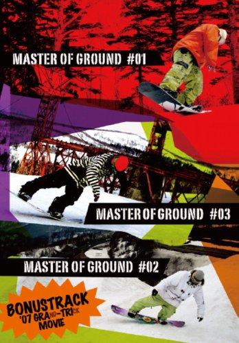 MASTER OF GROUND #1-#3 [DVD-cvsb1529]