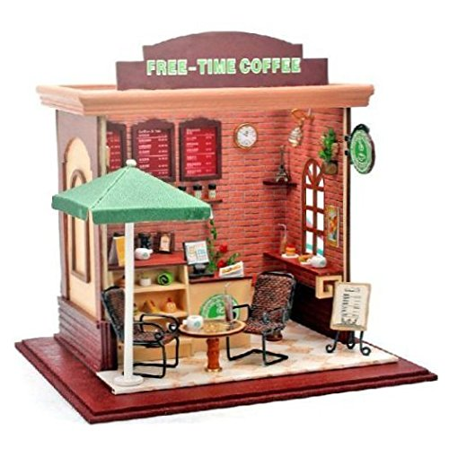 MIRACLE ドール ハウス オープン カフェ 手作り 可愛い 女の子 プレゼント MC-STBA