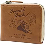 ドナルドダック[二つ折り 財布]ICカード ケース付き ショートウォレットディズニー