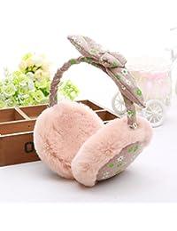 CJC 耳カバー イヤーマフ イヤーマフの冬は暖かい厚いちょう結びの装飾を保つ (色 : 2)
