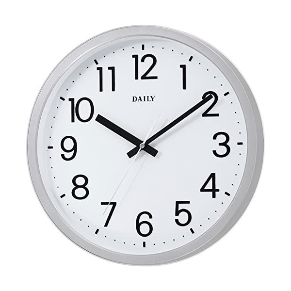 DAILY(リズム時計) クォーツ時計 フラット...の商品画像