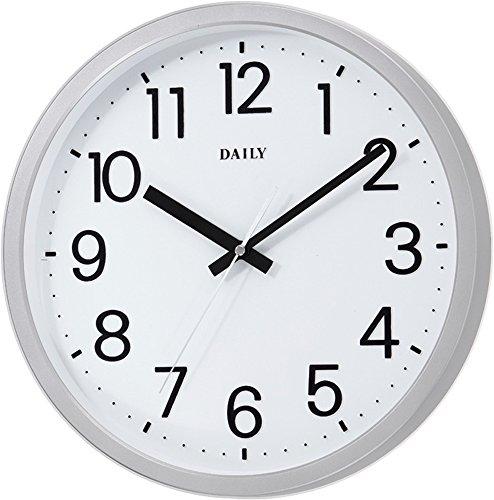 DAILY(リズム時計) 見易い スタンダード クォーツ時計...