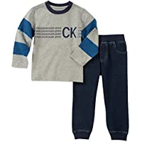 Calvin Klein Baby Boys 2 Pieces Jog