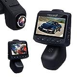 TOGUARD®CE20 多機能ドライブレコーダー 2.45インチ液晶 ステルス ドラレコ WIFI対応 衝撃センサー搭載  1080PフルHD カーカメラ 常時録画、DVR道レコーダー 、170°視野角、回転レンズ、Gセンサー、ループ記録、駐車モニター