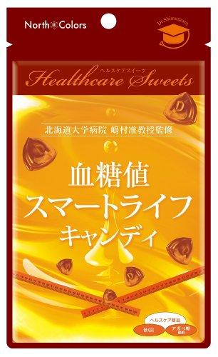 ノースカラーズ 血糖値スマートライフ キャンディ 60g×12袋