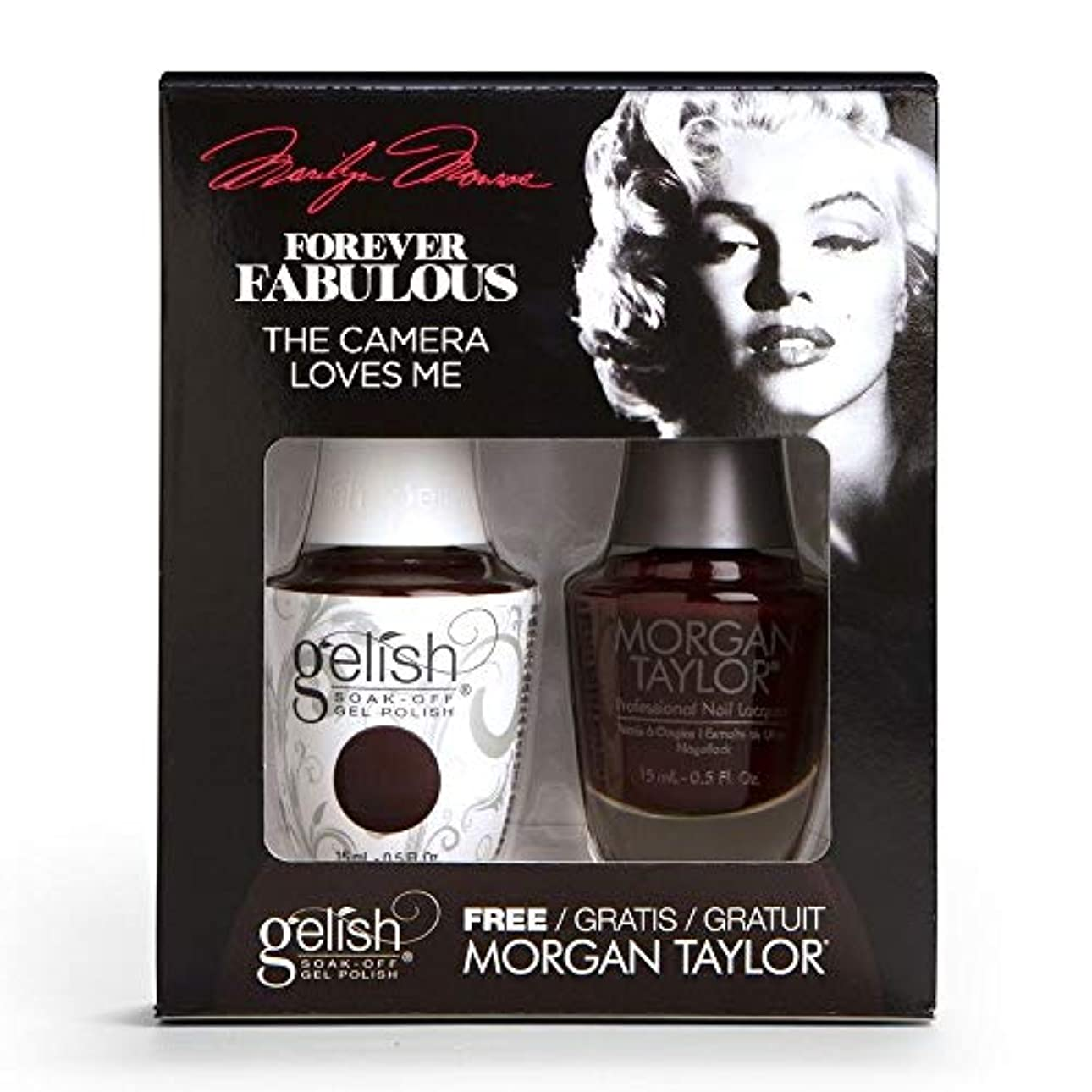 Harmony Gelish & Morgan Taylor - Two Of A Kind - Forever Fabulous Marilyn Monroe - The Camera Loves Me 15 mL /...