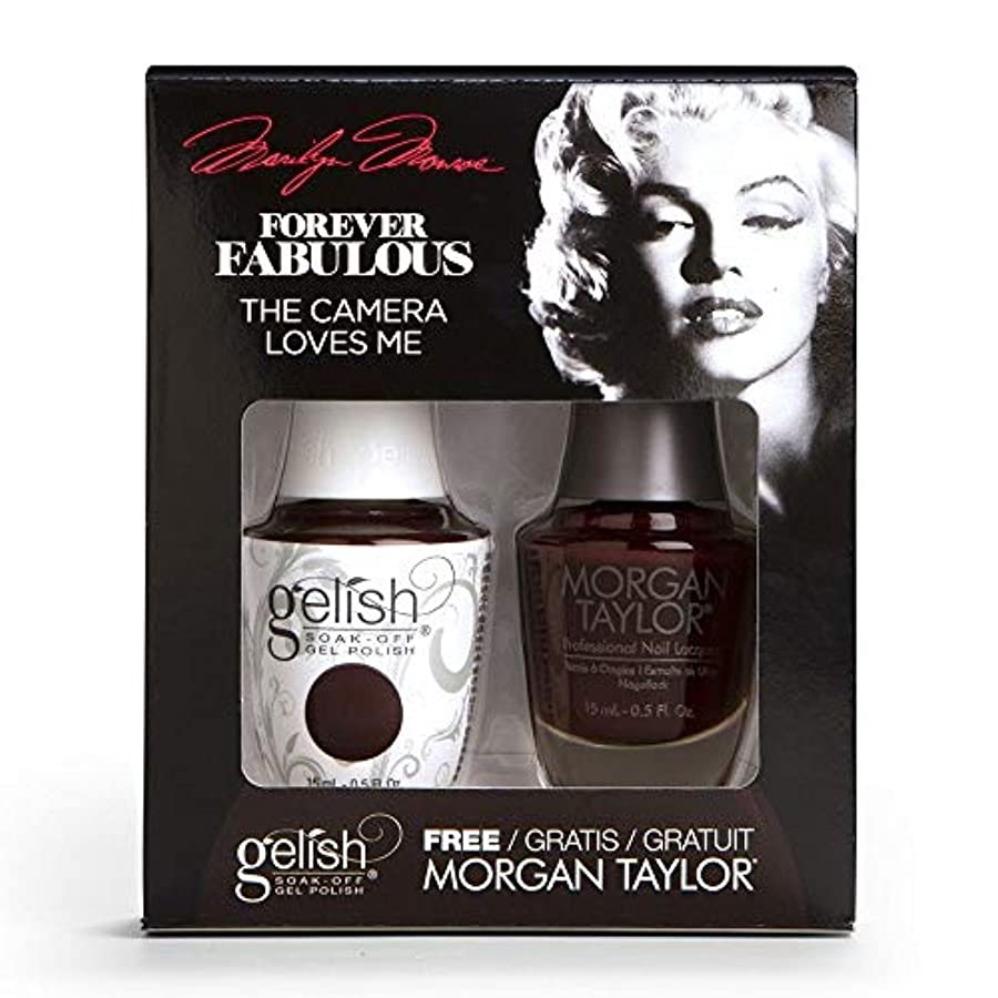 政治まさに甘くするHarmony Gelish & Morgan Taylor - Two Of A Kind - Forever Fabulous Marilyn Monroe - The Camera Loves Me 15 mL /...
