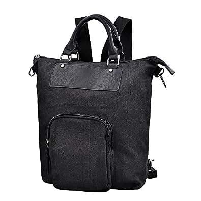 DGY トートバッグ リュックサック バックパック 底革 豊岡鞄 カバン カジュアル 2color A4 キャンバス レザー ブラック 黒G00208