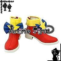 ●●サイズ選択可●●女性24CM MJR1659 コスプレ靴 ブーツ プリパラ PriPara レオナ