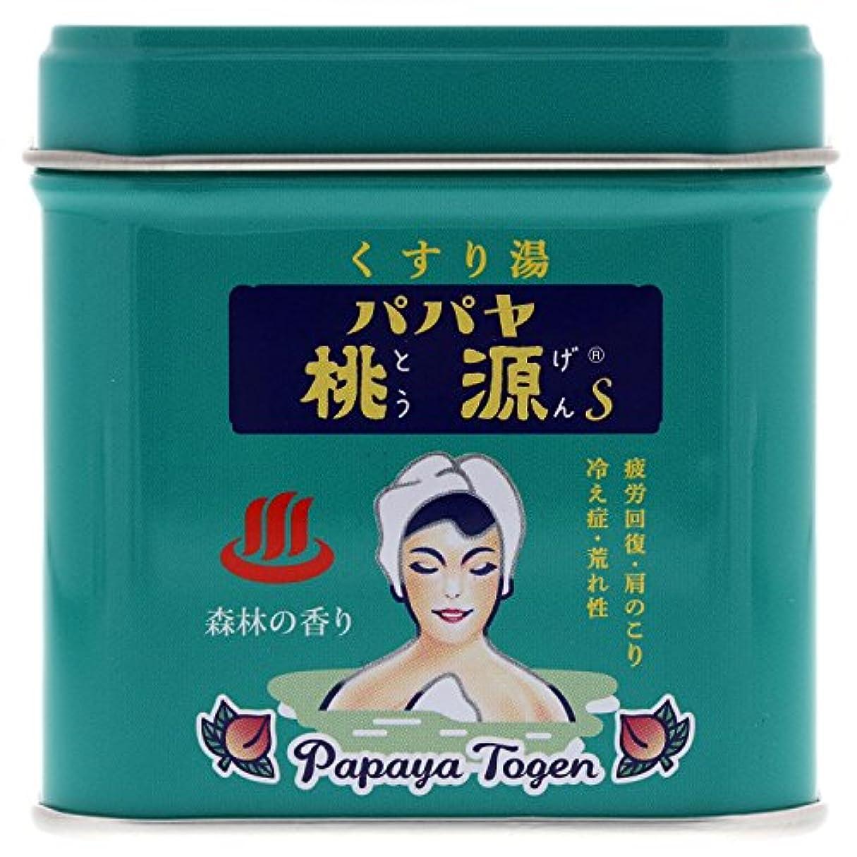 メニュー粗いジャグリングパパヤ桃源S 70g缶 森林の香り [医薬部外品]
