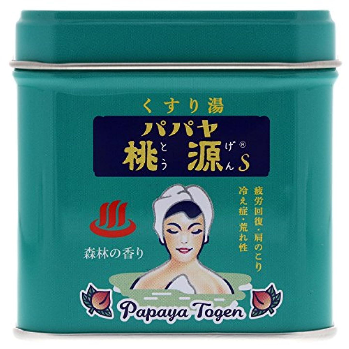 輝度論文散文パパヤ桃源S 70g缶 森林の香り [医薬部外品]