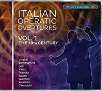 Italian Operatic Overtures 1 [Various] [DYNAMIC: CDS7761] by Various