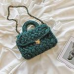 レディバッグ わら バケツバッグ ビーチ 余暇 草織り ワンショルダースモールスクエアバッグ ショッピング 旅行 パーティーに最適 あなたは美しい風景になろう どんなスタイルの服でもそれに合わせることができます (E)