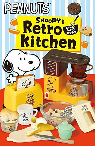 Snoopy Retro Kitchen Re-Ment miniature blind box by Re-Ment