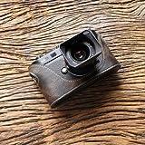 cam-in (カムイン) カメラケース ライカ LEICA M8、M9用 イタリアンレザー (CA026シリーズ(オリーブブラウン))