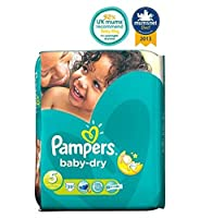 Pampers Baby-Dry Nappies Size 5 Essential Pack - 39 Nappies - パンパース赤ちゃんドライおむつサイズ5不可欠パック - 39おむつ (Pampers) [並行輸入品]