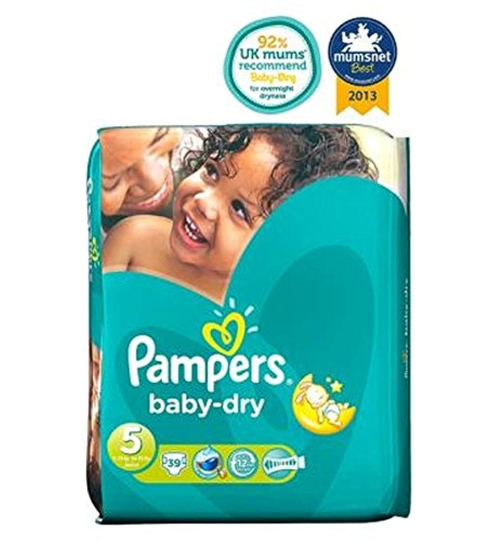 パンパース赤ちゃんドライおむつサイズ5不可欠パック - 39おむつ (Pampers) (x2) - Pampers Baby-Dry Nappies Size 5 Essential Pack - 39 Nappies...