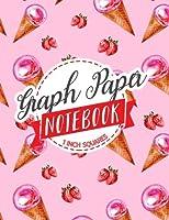 Graph Paper Notebook (Graph Paper Notebook: 1 Inch Squares)