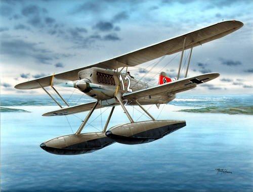 1/48 独・ハインケルHe51B-2水上戦闘機