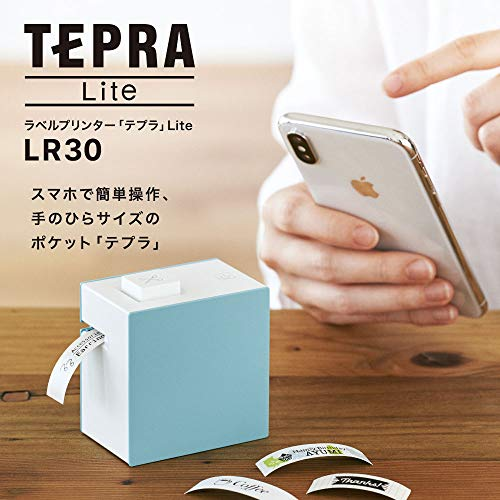 とにかく小型でシンプル!テプラ初のスマートフォン専用モデル「Lte LR30」