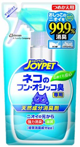 ジョイペット 天然成分消臭剤 ネコのフン・オシッコ臭専用 つめかえ用 240...