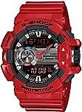 [カシオ] 腕時計 ジーショック Bluetooth搭載 G'MIX GBA-400-4AJF レッド