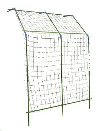 セキスイ 緑のカーテン つる植物栽培セット 立て掛けタイプ(ワイド) 巾1.8X高さ2.7X奥行1.0m グリーン