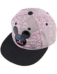 男女子供用キャスケット?嘻哈ネットキャップ?トピー?太陽帽?春秋夏野球帽 コットン 46-50cm サイズ調整可能