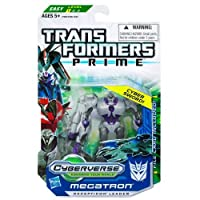 Hasbro Megatron Transformers Prime Cyberverse Commander Class Action Figure with DVD [並行輸入品]
