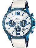 [エンジェルクローバー] 腕時計 TIME CRAFT SOLAR ホワイト文字盤 ソーラークォーツ クロノグラフ TCS44BNV-WH メンズ ホワイト