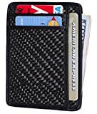 Kinzd 小さい財布 紙幣入れカードケース 定期入れ クレジットカード 身分証明書 ウォレット RFIDブロッキング - Best Reviews Guide