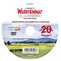 Watercolour As if by Magic Part 2 DVD with Geoff Kersey